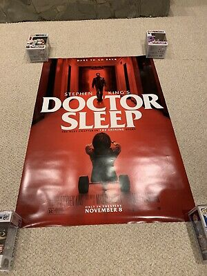 Doctor Sleep - original movie posters 27x40 D/S 2019 King Shining Sequel Bundle