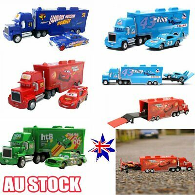 Disney Mattel Pixar Cars Mater Tractor King Sally Lightning Mcqueen Toy KidS  XD