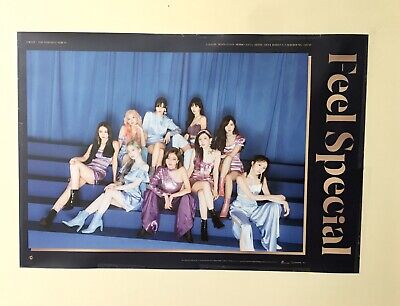 TWICE 8th mini album - Feel Special: Version B Unfolded Poster [OFFICIAL]