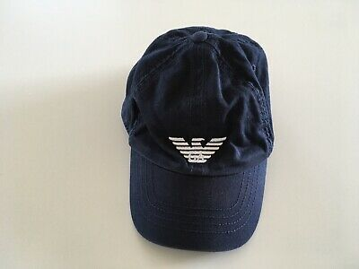 Genuine Armani Junior Navy Cap Size S Perfect Condition