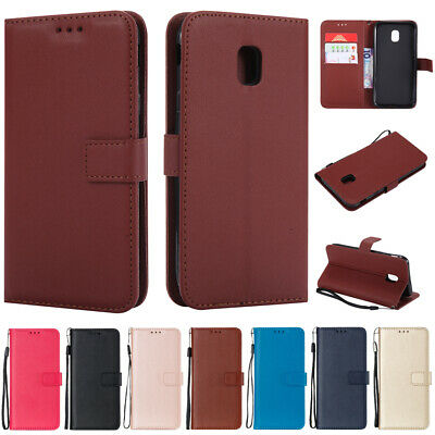 For Samsung Galaxy J3 J5 J7 A3 A5 2017 Magnetic Flip Leather Case Wallet Cover