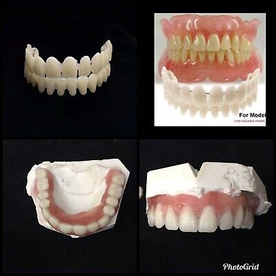 DO IT YOURSELF Denture Kit •Partial /AT HOME Denture TEETH Upper/Lower