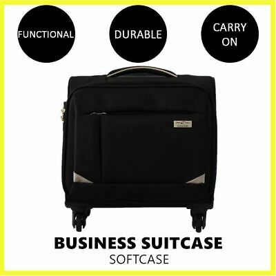 Cabani Softcase Business Suitcase Carry On Cabin Trolley Travel Luggage Bag Case