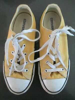 Converse Youth yellow sneakers (US2 UK1.5 EUR33.5 CM20.5)