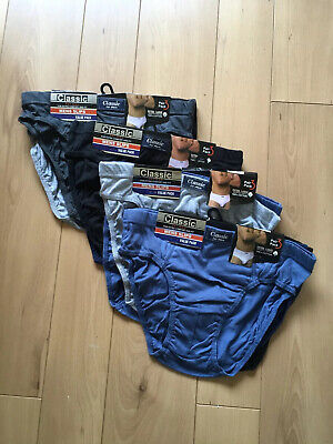 12 Pairs Of Classic Mens Underpants Briefs - Size Xl - Bnip