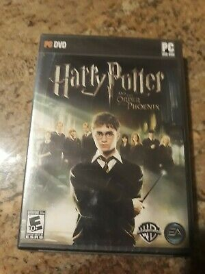 Harry Potter and The Order of the Phoenix - Video Game - PC New-Sealed