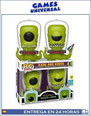 Funko Pop Kang And Kodos The Simpsons Convention Limited Edition