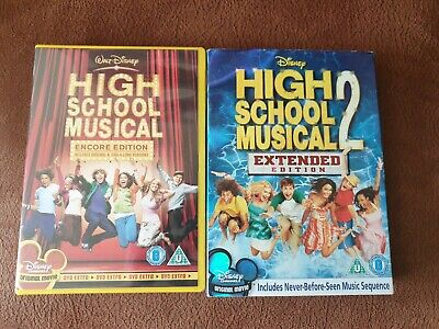 High School Musical 1 And 2 Dvd