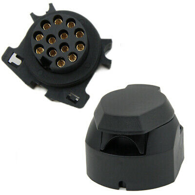 High Quality 12V 13 Pin Trailer Towing Car Plug Socket Connector Waterproof