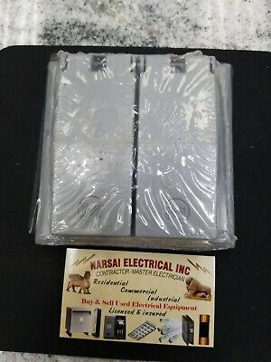MULBERRY 30458 Weatherproof Metal  Cover 2 Duplex Combination Receptacles(box#5)