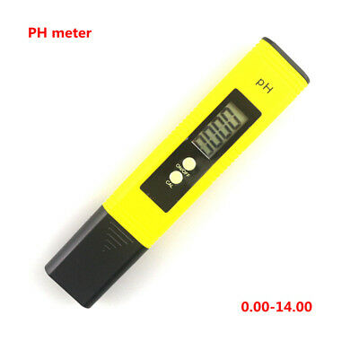 New Digital LCD PH Tester Pen Meter Aquarium Pool Water Wine Urine Pen Monitor