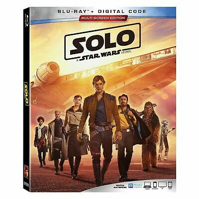 Solo A Star Wars Story (Blu Ray Disc ONLY) Follow The Saga Awesome adventure Fun