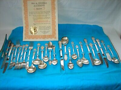Wm. A. Rogers  Oneida RENDEZVOUS OLD SOUTH flatware dinner set serving for 6