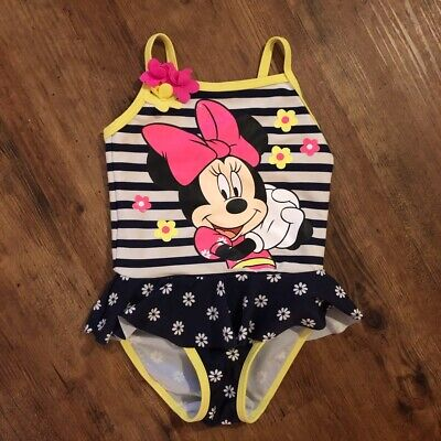 Minnie Mouse Baby Girl Swimming Costume 12-18 Months