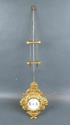 Old Original Gustav Becker Pendulum For Wall Clock P48