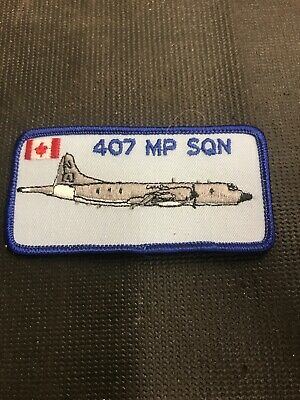 Canadian Airforce 407 Mp Sqn Patches Very Collectable Combine Shipping