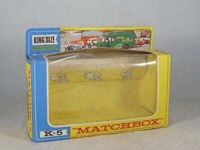 Matchbox - Originalkarton für K-5 King Size Racing-Car Transporter