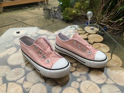 Young Dimensions Kids Trainers Pink Size 9 Girls Kids Sparkly Shoes