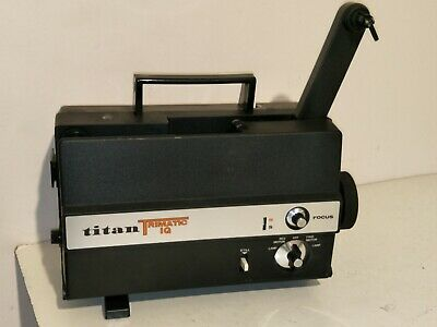 Titan Trimatic IQ 8mm Silent Home Movie Projector posting