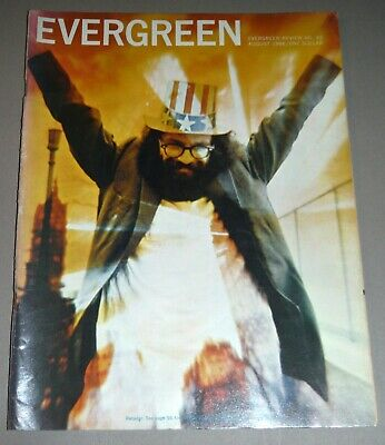 Evergreen Review No 42 August 1966 Allen Ginsberg & Civil Rights