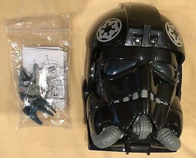 Star Wars Micro Machines TIE Fighter Pilot Academy Transforming Play set,NICE!!!