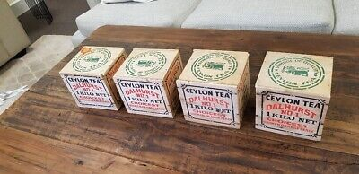 Vintage tea box 1 kg (4 available sold each)