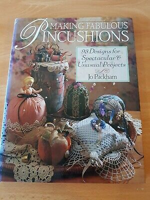 Craft Book: Making Fabulous Pincushions 98 Design Projects 144pg