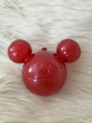 Disney Parks 2019 Mickey Christmas Holiday Jingle Bell Light Up Glow Cube Red