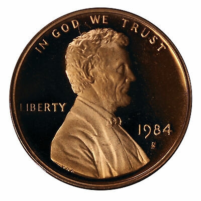 1984 -S Lincoln Memorial Cent Gem Proof Single Coin