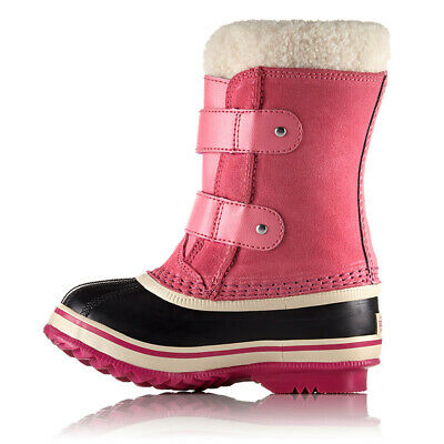 Sorel Toddlers 1964 Pac Strap Waterproof Winter Snow Boots, Tropic Pink