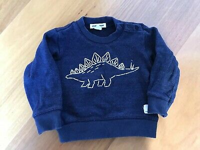 Baby Boy Country Road Navy Blue Jumper Size0