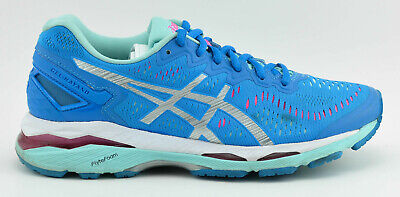 Details about ASICS GEL KAYANO 23 T696N 5893 POSEIDON SILVER COCKATOO WOMEN SHOES SIZE 6