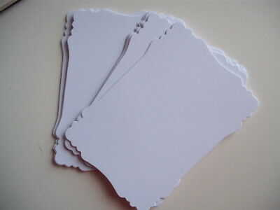 A6 Plain smooth white card cut victorian design Postcard Crafts Competition