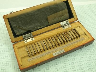 Precision Metric Gauge Block Set 19pcs. #6-7 /0.991 to 1,009mm./ USSR grade 1