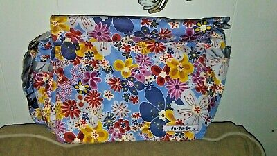 Ju Ju Be Multicolored Floral Diaper Bag EUC