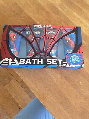 Spider-Man Bubble Bath & Shower Gel gift set