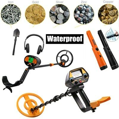 Metal Detector Pinpointer Probe Waterproof Treasure Gold Hunting with Holster A+