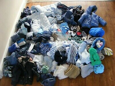 huge bundle baby boy clothes over 50 items age 0 to 9 months