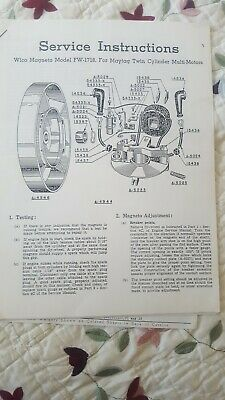 Maytag Twin Cylinder Multi Motors Service Instructions