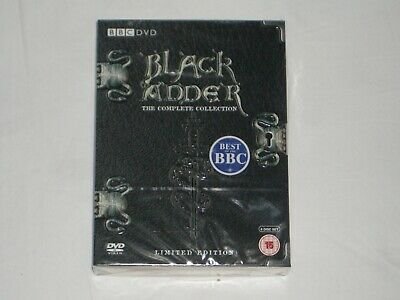 """""""BLACK ADDER"""" - The Complete Collection + Christmas Carol - Limited Edition."""