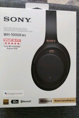 Sony WH-1000XM3 Active Noise Cancelling Wireless Bluetooth Headphones  - NEW