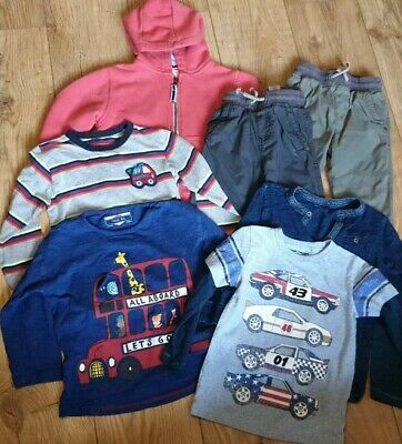 NEXT Boys Bundle - Trousers Hoodie Tops Age 2-3years