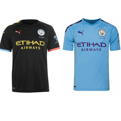 Manchester City Home And Away Shirts 2019/20 BNWT Adult Men's Size Jersey