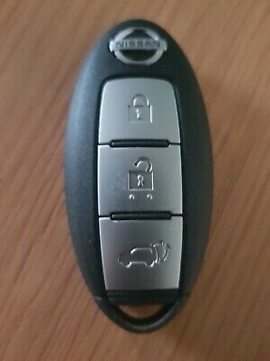 Nissan 3 Button Keyless Remote Car Key Fob In Working Order. (Ref 419)