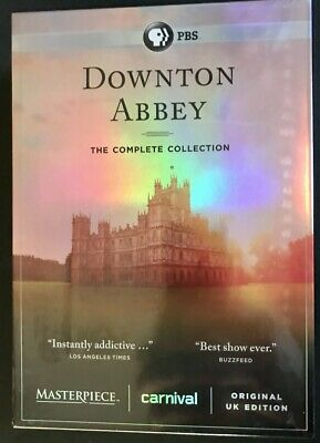 DOWNTON ABBEY / The Complete Collection / Original UK Edition / FREE SHIPPING