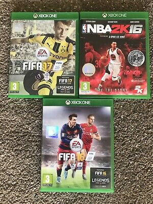 Xbox One games bundle incl FIFA 17