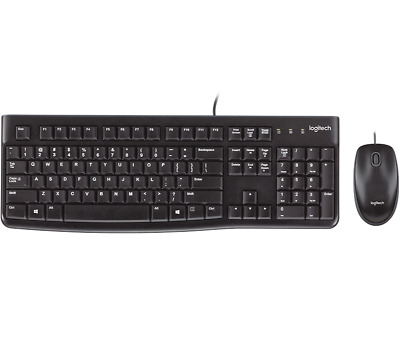 Logitech MK120 920-002851 Wired Keyboard and Mouse Combo