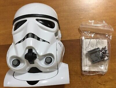 Star Wars Micro Machines Stormtrooper/Death Star Transforming Play set,complete!