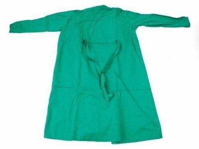 REUSABLE-SURGICAL-GREEN-GOWN-SIZE-XL-100-cotton  / g 345T2