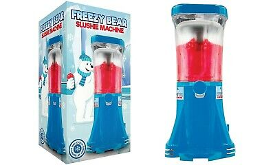 Slush Puppie Machine Freezy Bear Slushie Frozen Cold Ice Drink Maker 1L